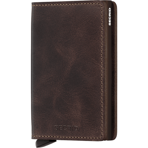 Secrid Slim Wallet Vintage Chocolate