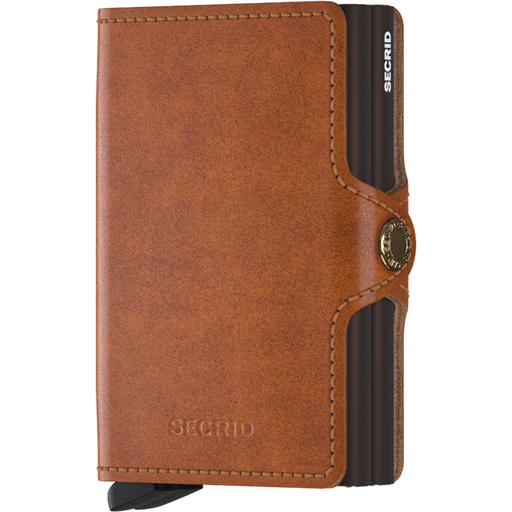 Secrid Twin Wallet Original Cognac-Brown