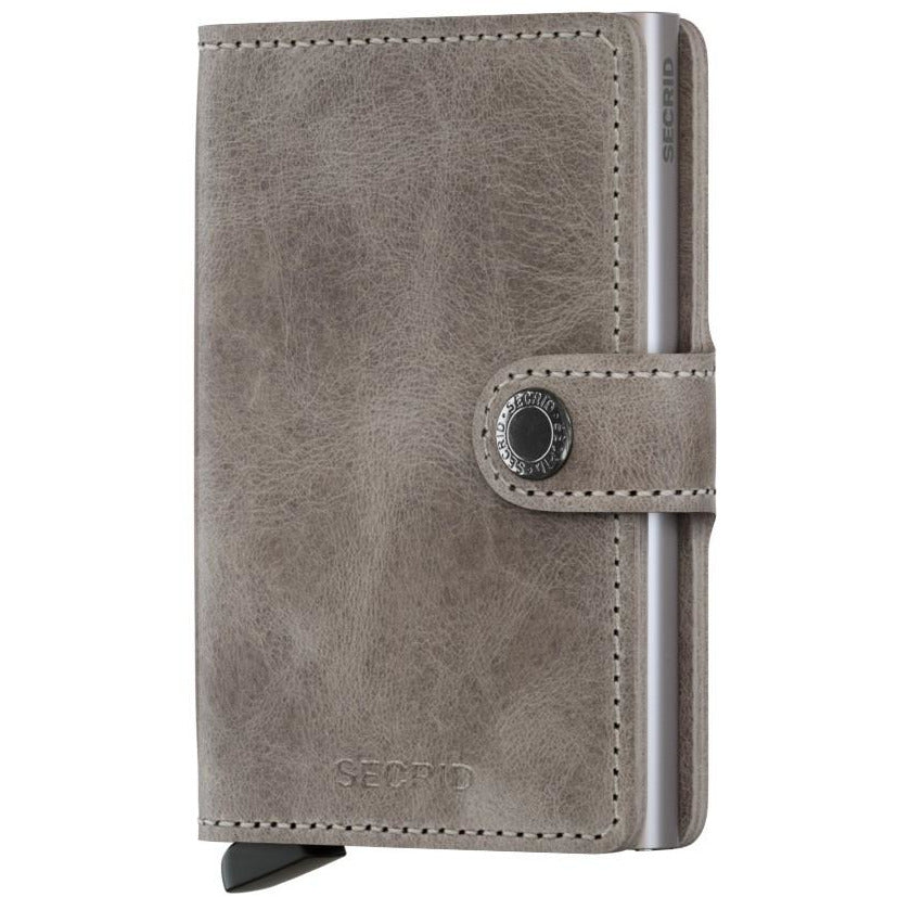 Secrid Mini Wallet Vintage Grey-Silver