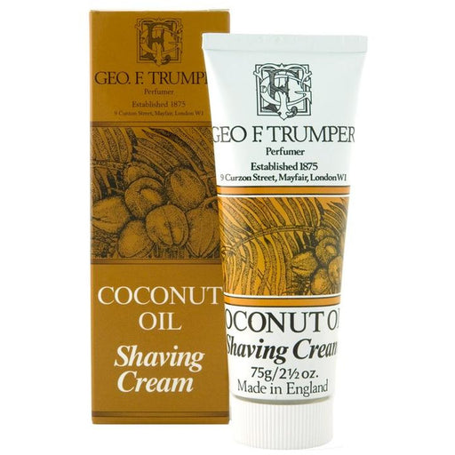 Geo. F. Trumper Coconut Oil Shaving Cream Tube