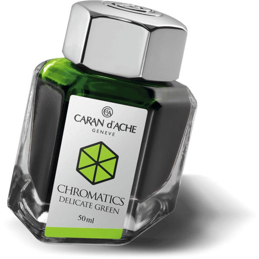Caran d'Ache Delicate Green Ink Bottle