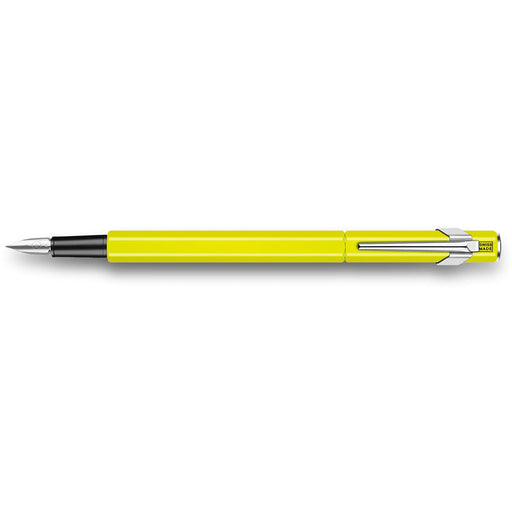 Caran d'Ache 849 Fountain Pen Fluorescent Yellow