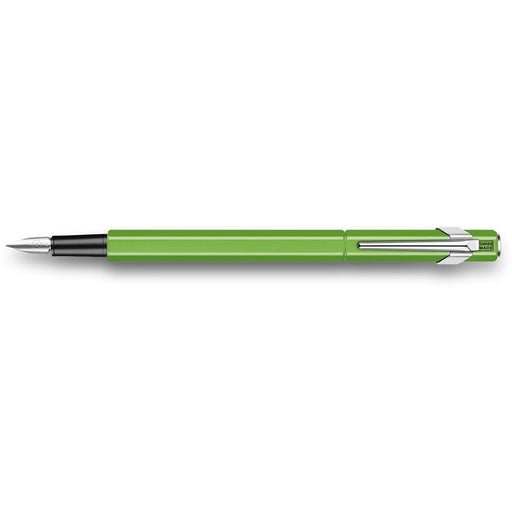 Caran d'Ache 849 Fountain Pen Fluorescent Green