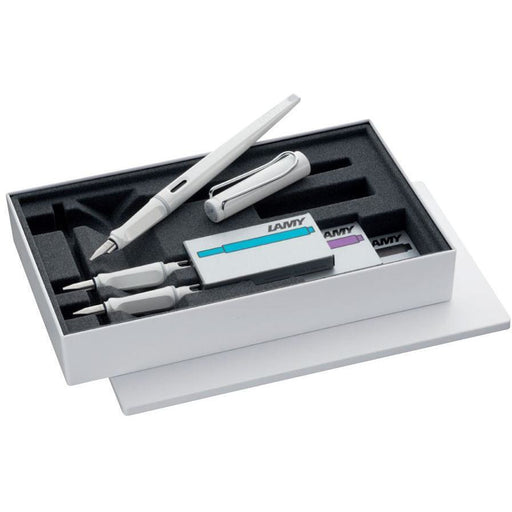 Lamy Joy Fountain Pen Set White 1.1/1.5/1.9mm