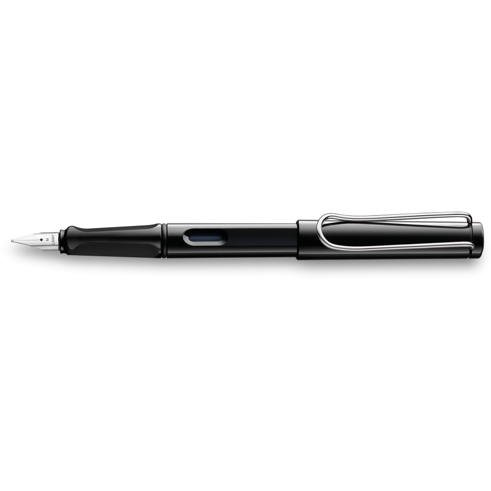 Lamy Safari Fountain Pen Shiny Black