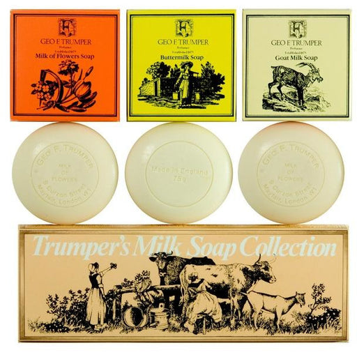 Geo. F. Trumper Milk Soap Collection