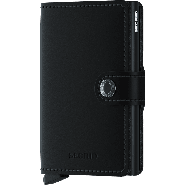 Secrid Mini Wallet Matte Black