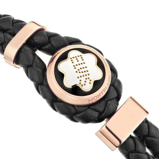 Montblanc Elvis Presley Special Edition Woven Leather Bracelet