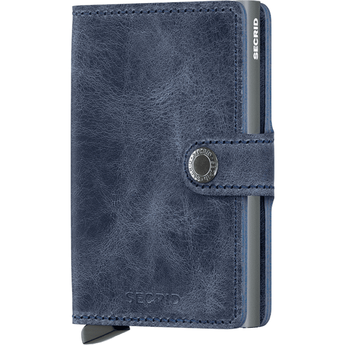 Secrid Mini Wallet Vintage Blue
