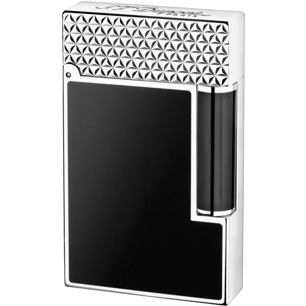 S.T. Dupont Ligne 2 Palladium Finish Natural Lacquer Lighter