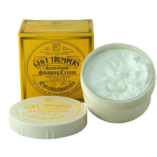 Geo. F. Trumper Sandalwood Shaving Cream Tub