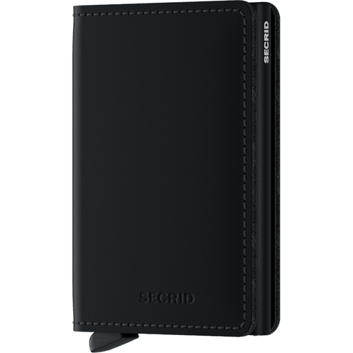 Secrid Slim Wallet Matte Black