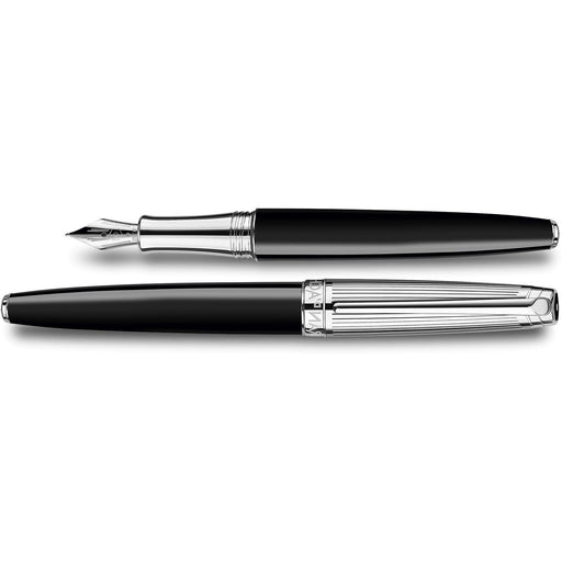Caran d'Ache Leman Bicolor Fountain Pen Black