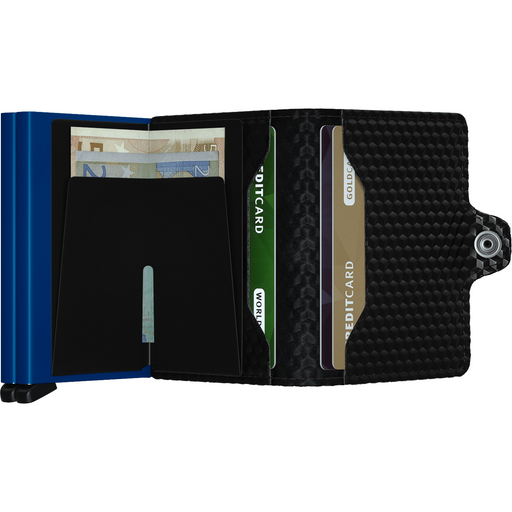 Secrid Twin Wallet Cubic Black-Blue