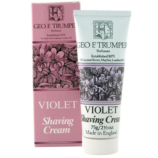 Geo. F. Trumper Violet Shaving Cream Tube