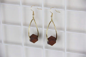 Sale! Mini Wood Drop Vintage Earring - Sswing Lifestyle Company