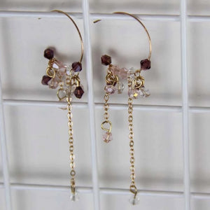 Sale! Rose Crystal Drop Earring - Sswing Lifestyle Company