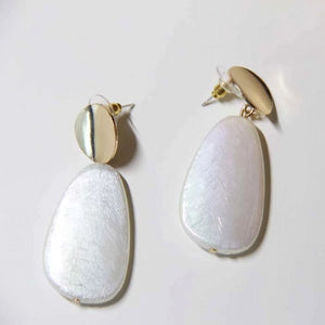 Anti-allergy Parisian Style Pearl Collection Drop Earring - Sswing Lifestyle Company