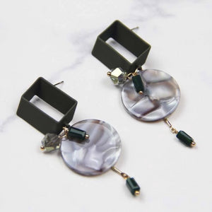 Parallelogram Geometric Drop Earring - Sswing Lifestyle Company