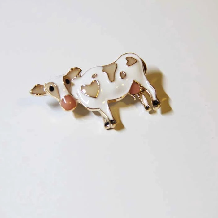 Little Cow Brooches - Sswing Lifestyle Company
