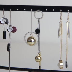 Asymmetric Metal Balls Earring - Sswing Lifestyle Company