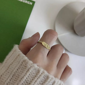 Fine Silver- Adjustable Nordic Style Ring - Sswing Lifestyle Company