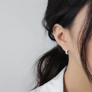 Fine Silver-Mini Stud Earrings - Sswing Lifestyle Company