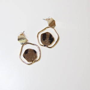 Leopard Print Drop Earring - Sswing Lifestyle Company