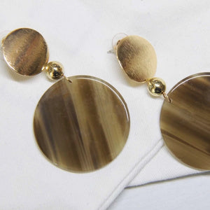 Sale! Acetate Marble Resin Earring - Sswing Lifestyle Company