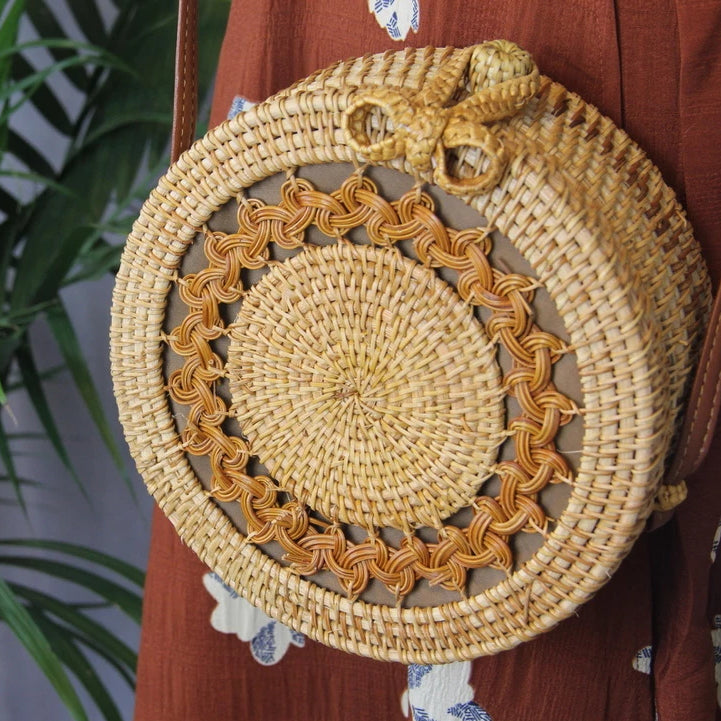 Sale! Vintage Rattan Straw Bag - Sswing Lifestyle Company