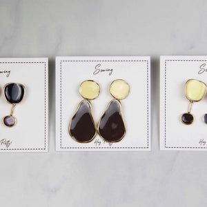 Sale! Mix Matched Waterdrop Earring - Sswing Lifestyle Company