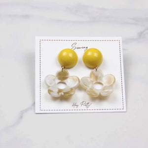 Sale! Summer Resin Flower Earring - Sswing Lifestyle Company