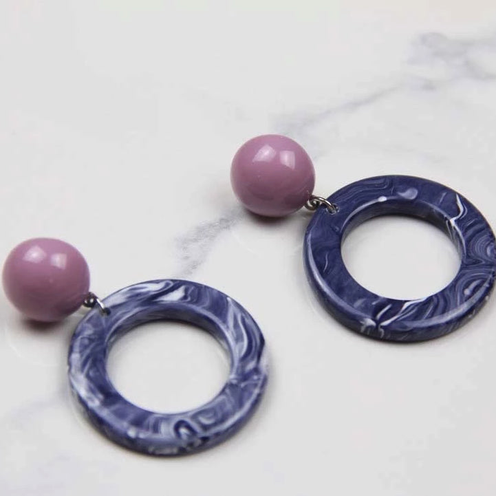 Round Drop Berry Earring - Sswing Lifestyle Company