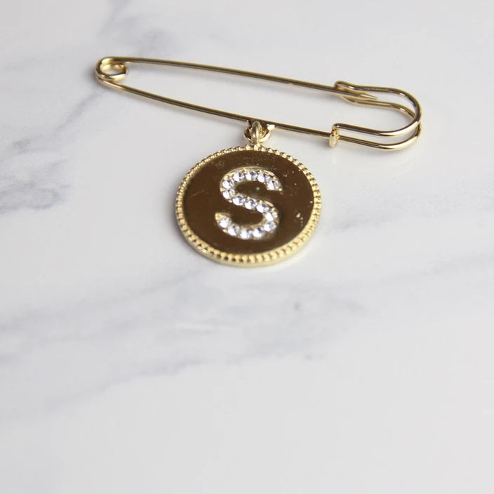 Sswing Letter Pin Brooches - Sswing Lifestyle Company