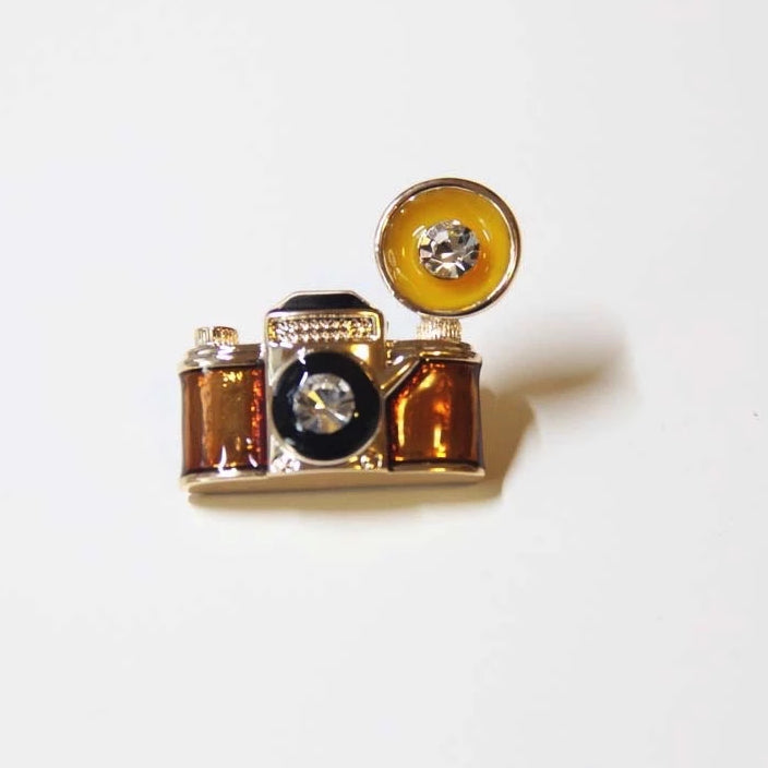 Retro Camera Brooches - Sswing Lifestyle Company
