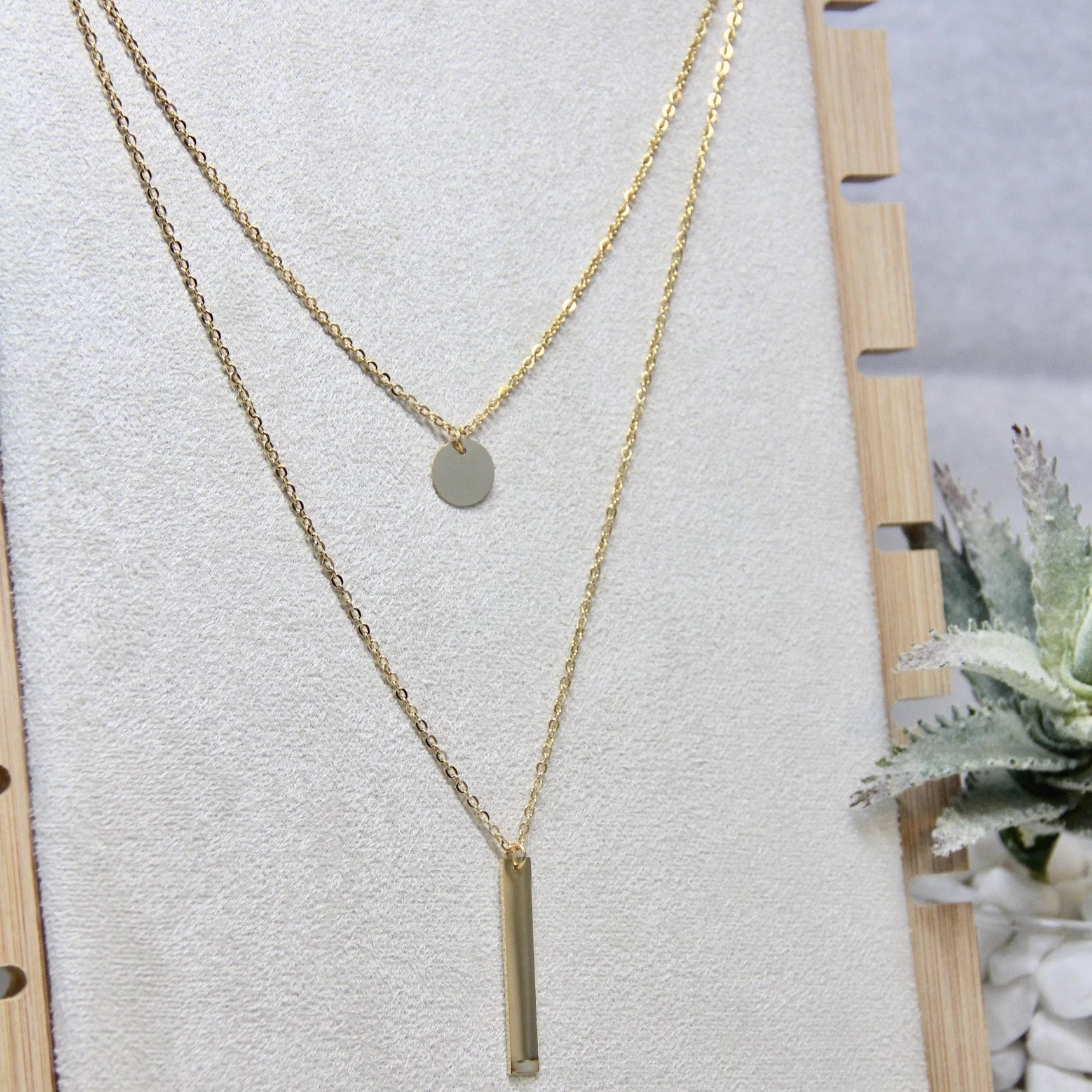 Stainless Steel Layering Necklace - Sswing Lifestyle Company
