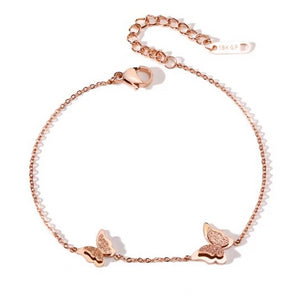 Stainless Steel Butterfly Bracelet - Sswing Lifestyle Company
