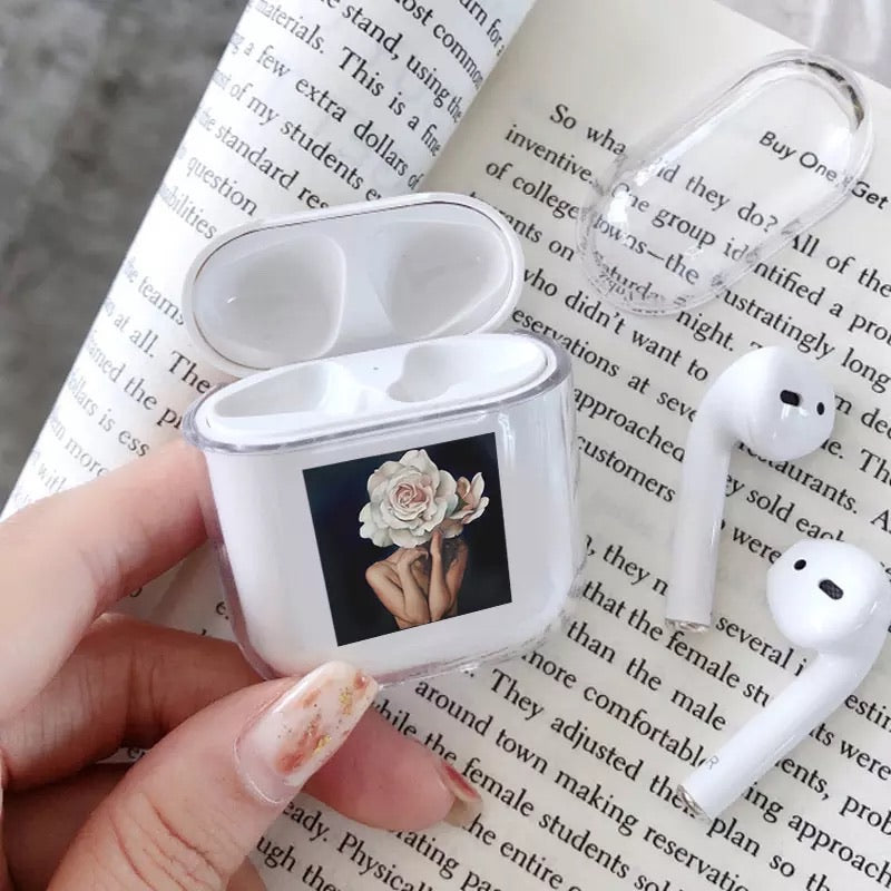 Flower Art AirPods Case (For Air Pods 1/2 Charging Case) - Sswing Lifestyle Company