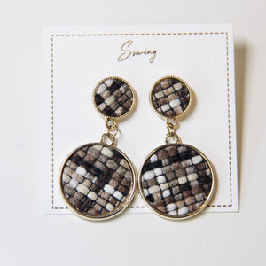 Winter Knit Drop Earrings - Sswing Lifestyle Company