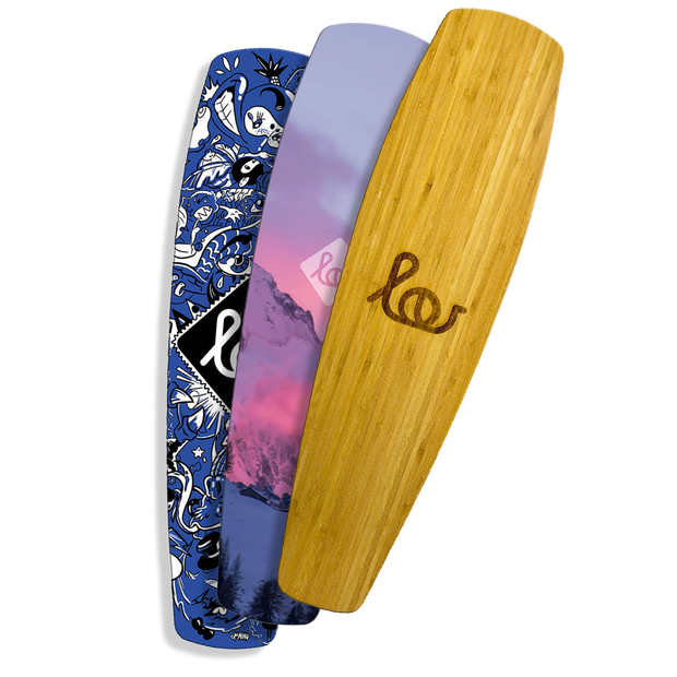 Lou Board Electric Skateboards designer deck plates | Lou Boards