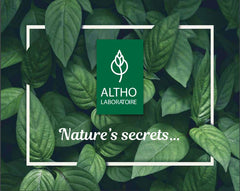 Laboratoire ALTHO certified organic essential oils, shower gels, skincare. Organic health beauty and wellness online shop