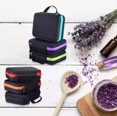 Aromatherapy Essential Oils Carry Case. For use also for nail polish or beauty carry case.