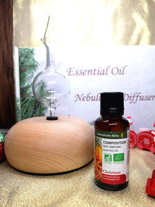 Essential Oil Nebulizing Diffuser Christmas Bundle
