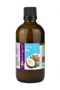 Coconut - Organic Virgin Cold Pressed Oil, 100ml