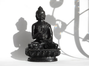 Blessing Buddha Resin Statue