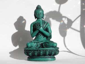 Wellness Buddha Resin Statue