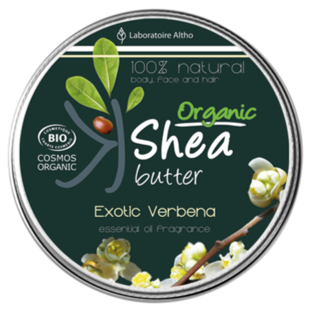 Organic Shea Butter with Exotic Verbena Essential Oil Aromatherapy Ireland