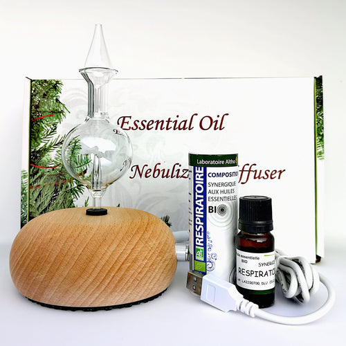 Essential Oil Nebulizing Diffuser Respiratory Bundle