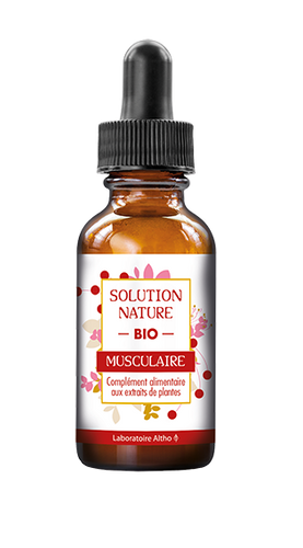 Muscular - Organic Natural Solution 30ml