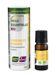 Roman Chamomile - Certified Organic Essential Oil, 5ml